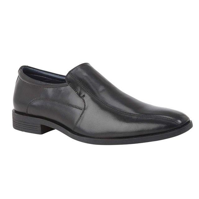 Lotus Slip-on Shoes - Black leather - UMS053BB/30 OLIVER
