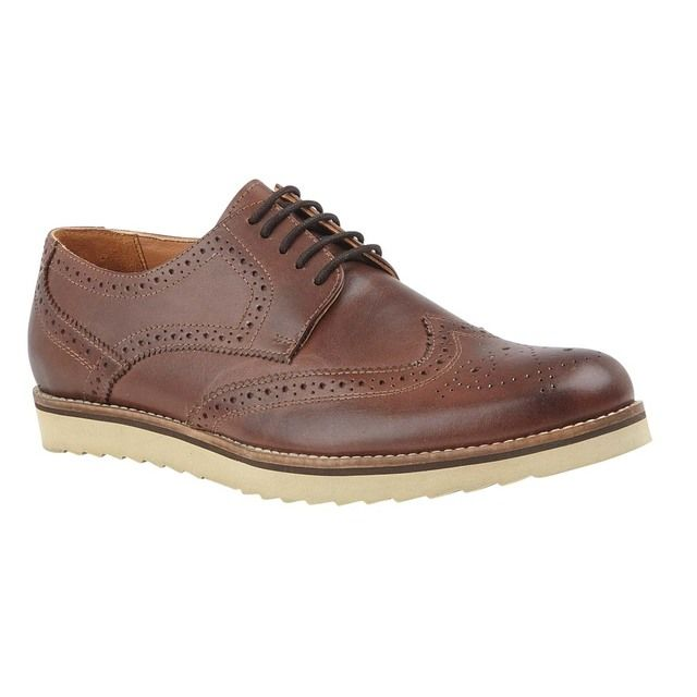 Lotus Brogues - Brown leather - UMS063TT/20 ISAAC