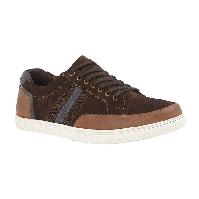 Lotus Casual Shoes - Brown Suede - UMS065TT/20 TYLER