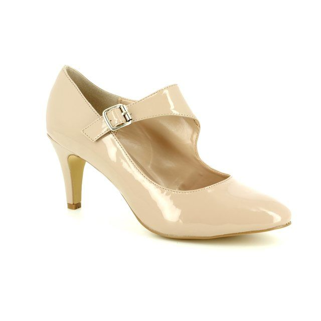 Lotus High-heeled Shoes - Nude Patent - 50855/56 LAURANA