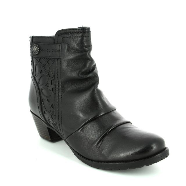 Lotus Ankle Boots - Black - 40396/30 MAPLES