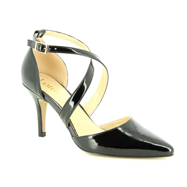 Lotus High-heeled Shoes - Black - ULS016/30 MARREL