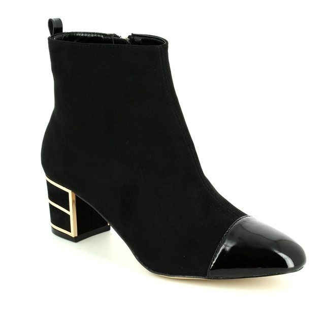 Lotus Ankle Boots - Black - 40377/30 MICA