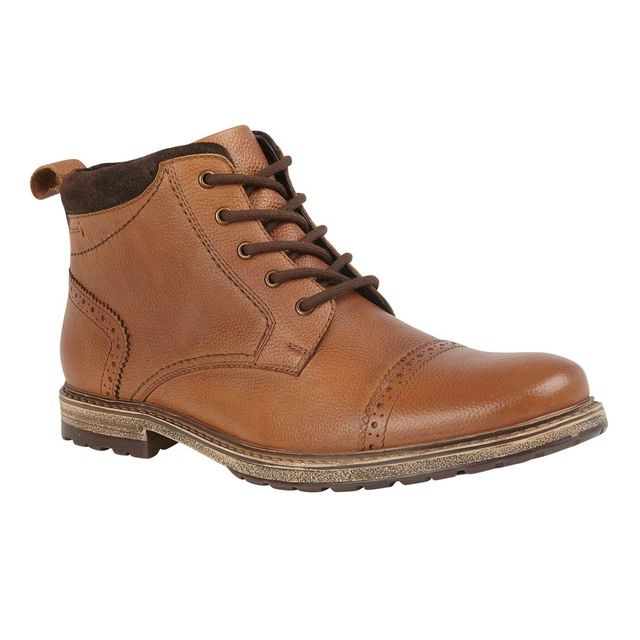 Lotus Boots - Brown leather - UMB013TT/20 BAXTER