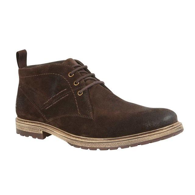 Lotus Fashion Shoes - Brown Suede - UMB012TS/20 OWEN