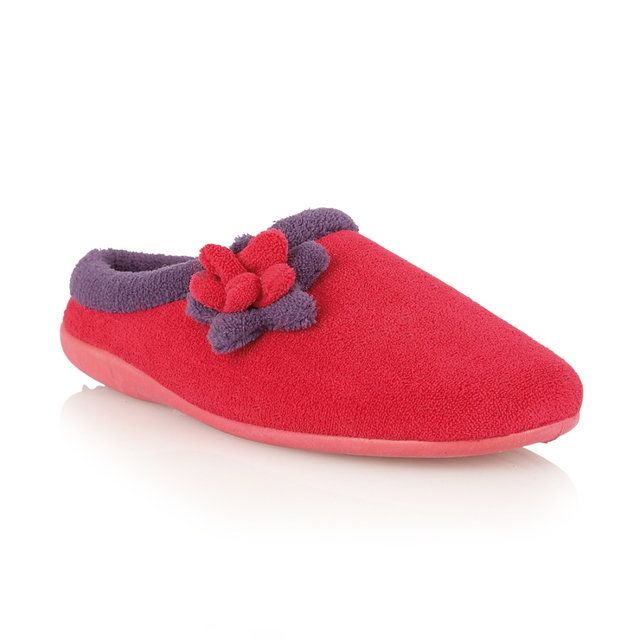 Lotus Philina Pink Slippers