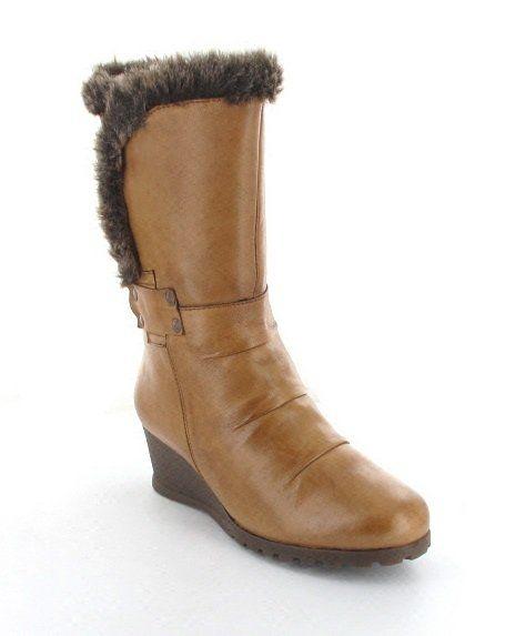 Lotus Ankle Boots - Tan - 4002/61 SAYAN