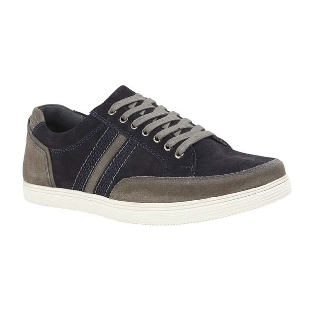 Lotus Casual Shoes - Navy suede - UMS065DE/70 TYLER
