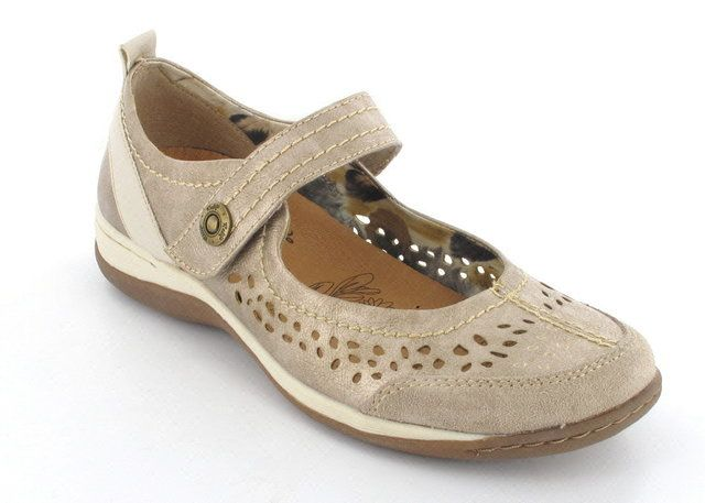 Lotus Valoni Bronze lacing shoes
