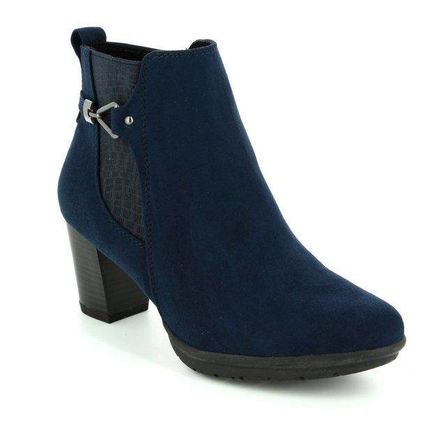 Marco Tozzi Ankle Boots - Navy - 25340/805 ACERI 72