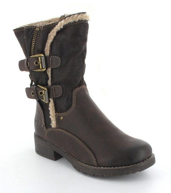 Marco Tozzi Alpini 26409-395 Dark Brown ankle boots