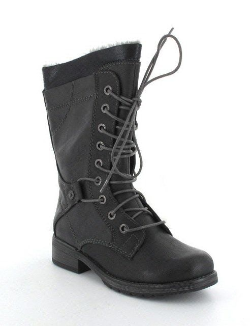 Marco Tozzi Alpinia 26216-002 Black long boots