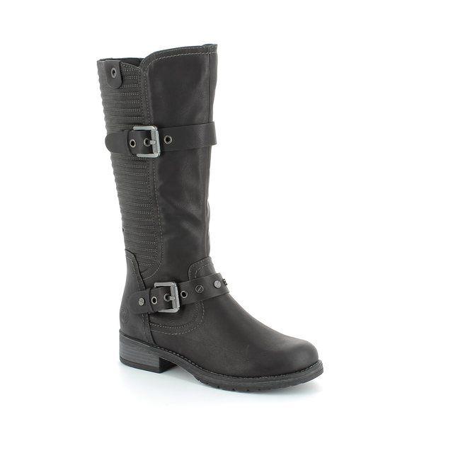Marco Tozzi Alpirib 25605-002 Black knee-high boots