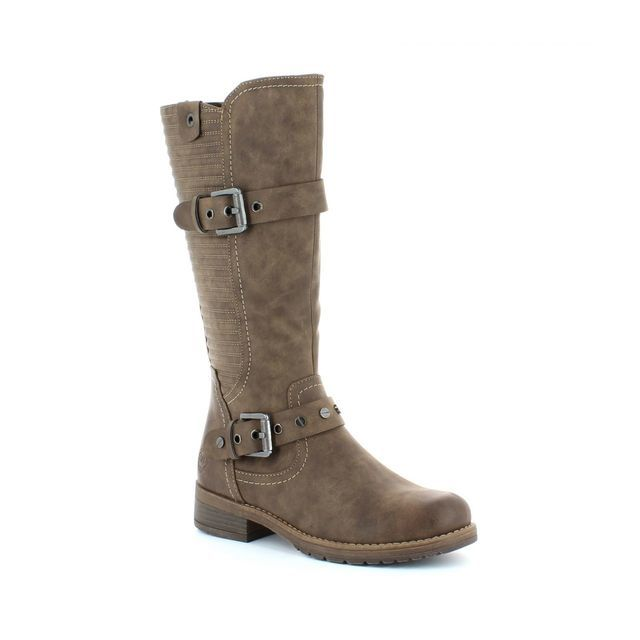 Marco Tozzi Alpirib 25605-363 Brown knee-high boots