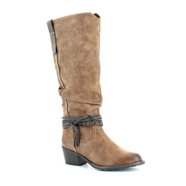 Marco Tozzi Bacino 52 25507-366 Tan multi long boots