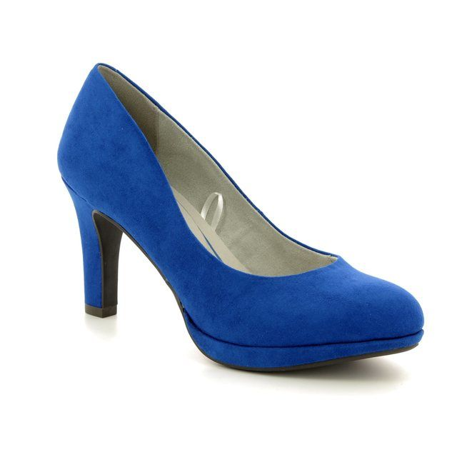 Marco Tozzi High-heeled Shoes - Blue - 22417/20/838 BADAMI