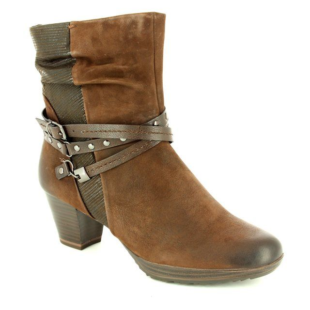 Marco Tozzi Barsanti 62 25421-325 Dark Brown ankle boots