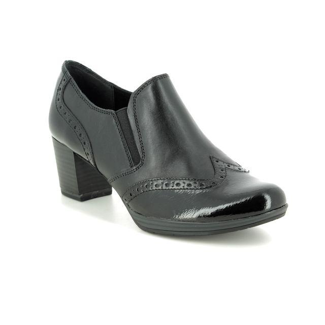 Marco Tozzi Shoe-boots - Black leather - 24404/23/096 BARSANTIBRO