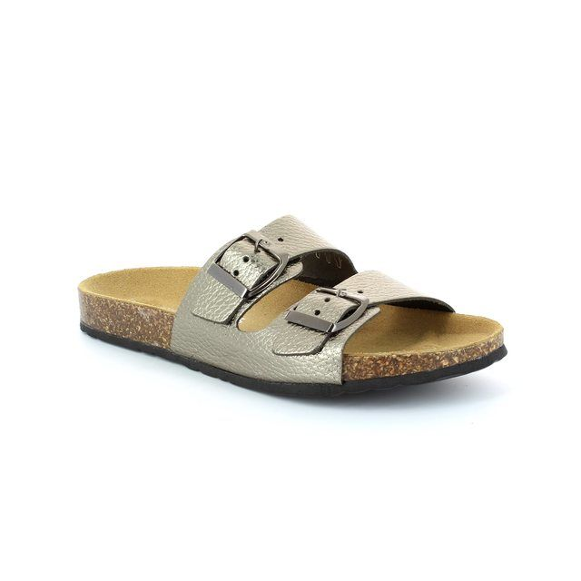Marco Tozzi Bio 27504-915 Pewter sandals