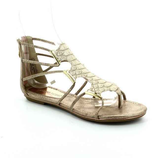Marco Tozzi Sandals - Gold - 28115/532 BIVIO