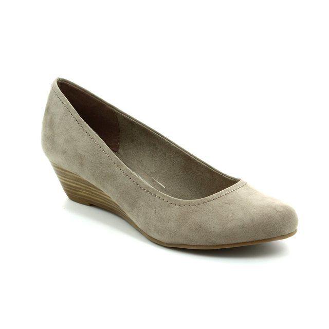 Marco Tozzi Wedge Shoes - Taupe - 22302/341 BIWAQ