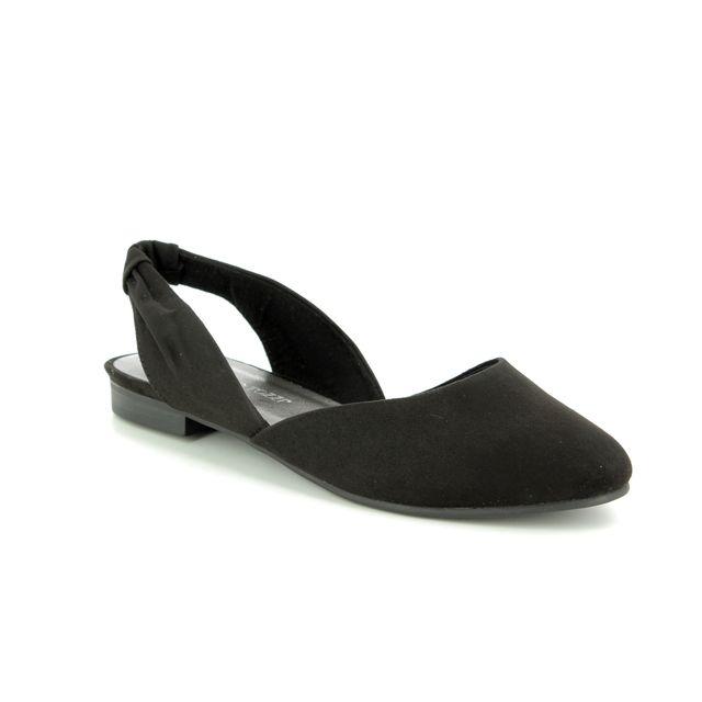 6f3787fb6d908 Marco Tozzi Bravisling 29409-32-001 Black Closed Toe Sandals