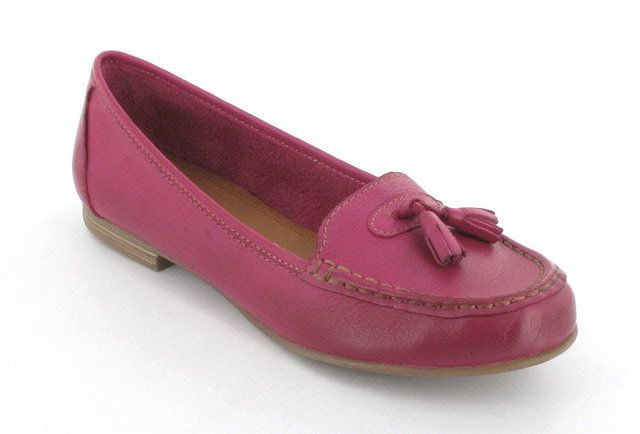 Marco Tozzi Calcio 24226-573 Fuchsia lacing shoes