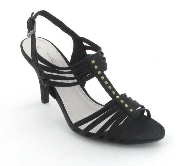 Marco Tozzi High-heeled Shoes - Black - 28320/001 CARDA
