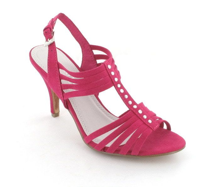Marco Tozzi Carda 28320-532 Fuchsia high-heeled shoes