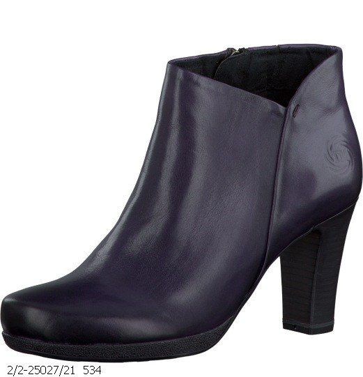 Marco Tozzi Carrie 25027-534 Plum ankle boots