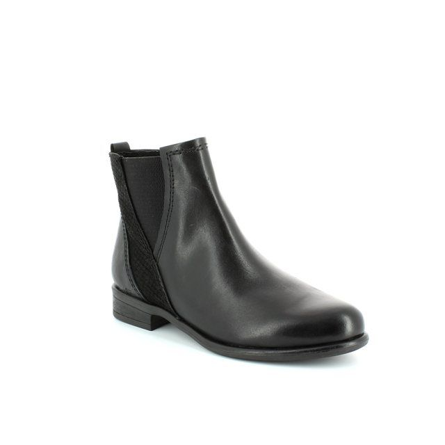 Marco Tozzi Ciago 25046-096 Black ankle boots