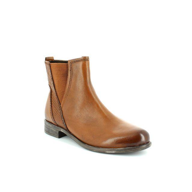 Marco Tozzi Ciago 25046-340 Tan ankle boots