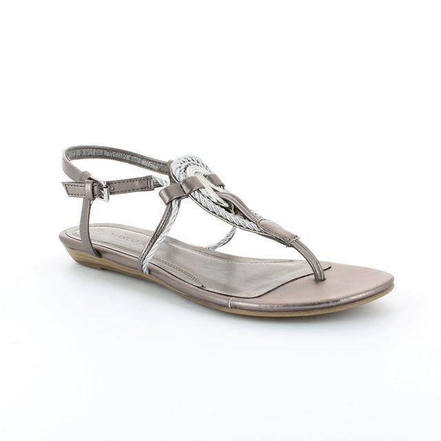 Marco Tozzi Cibo 28109-915 Pewter multi sandals