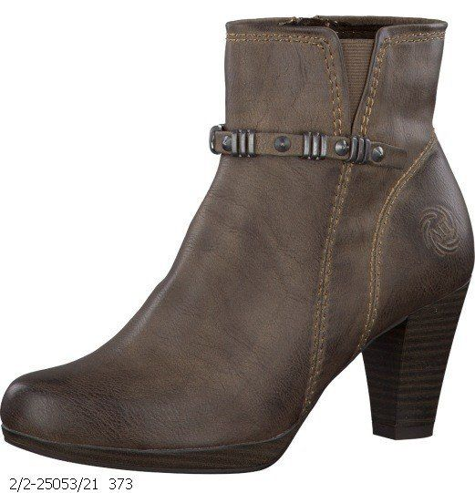 Marco Tozzi Copper 25053-363 Brown ankle boots