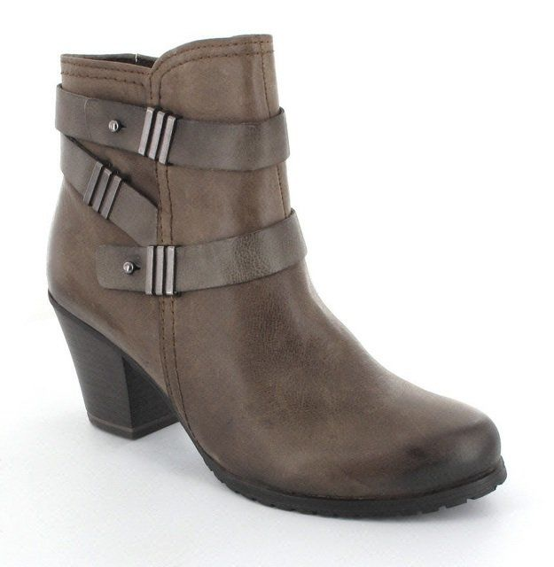 Marco Tozzi Ankle Boots - Taupe - 25018/334 CUNICO