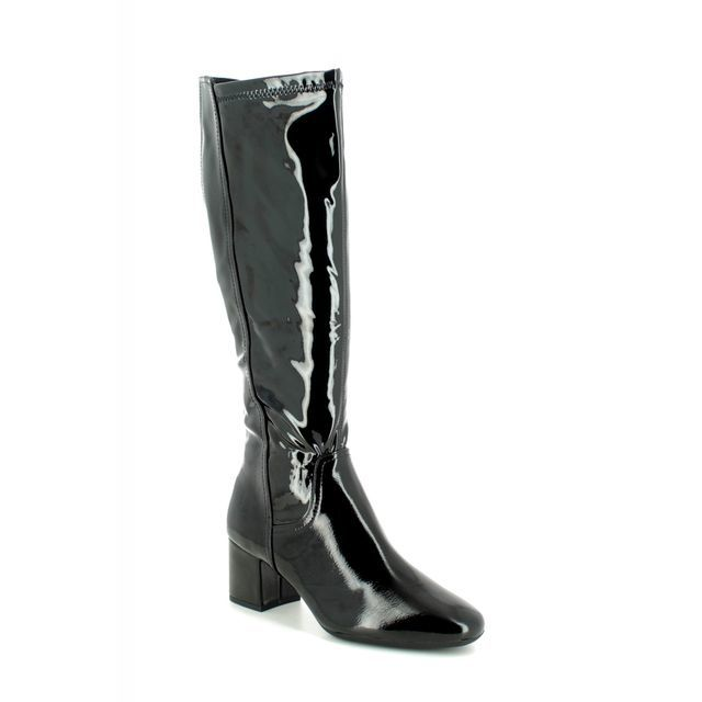 Marco Tozzi Knee-high Boots - Black patent - 25521/23/018 DAVILONG