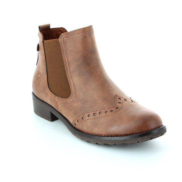 Marco Tozzi Drapbro 62 25306-410 Tan ankle boots