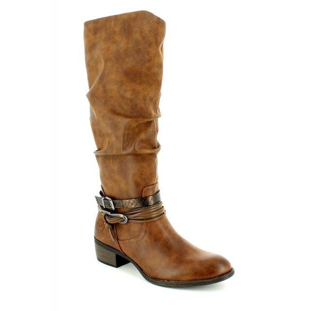 Marco Tozzi Drema 25531-372 Tan knee-high boots