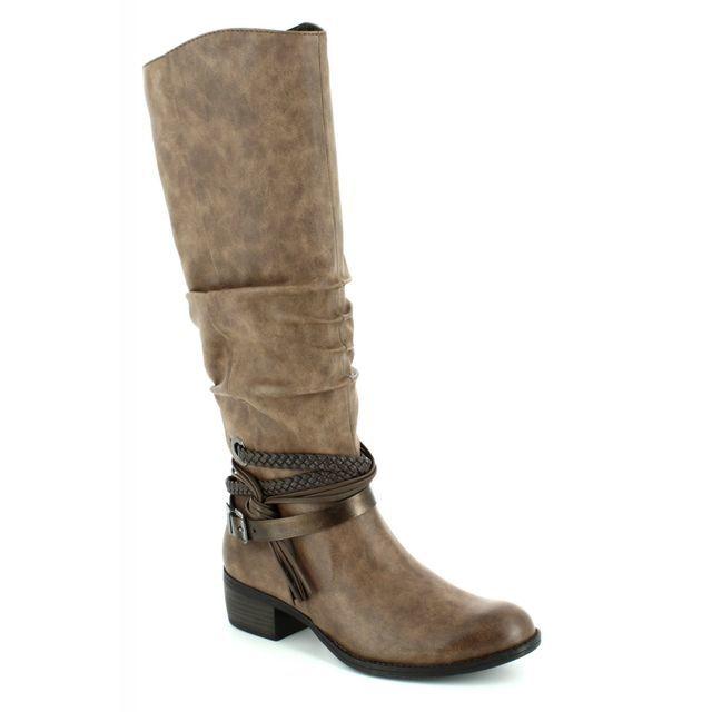 Marco Tozzi Knee-high Boots - Tan multi - 25507/372 DREMA 72