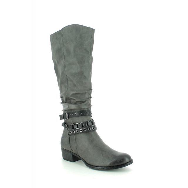 Marco Tozzi Knee-high Boots - Dark Grey - 25507/23/207 DREMA   95