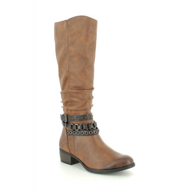 Marco Tozzi Knee-high Boots - Tan - 25507/23/310 DREMA   95