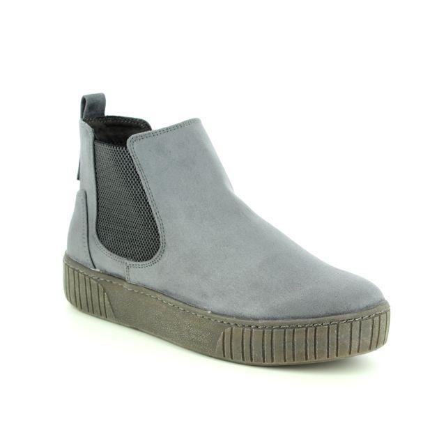 Marco Tozzi Chelsea Boots - Grey - 25454/23/221 DURLOURDES