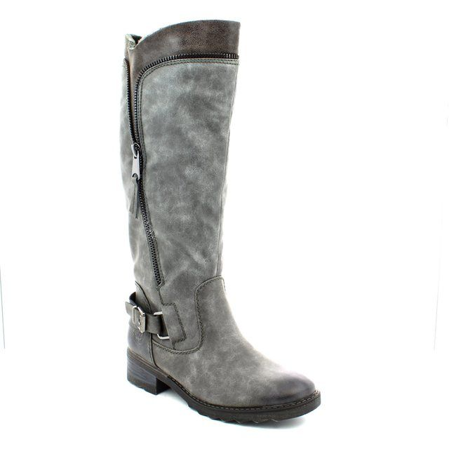 Marco Tozzi Dussi 26601-212 Grey knee-high boots