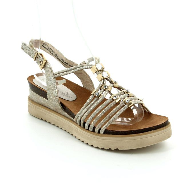 Marco Tozzi Sandals - Beige multi - 28505/412 ELVO