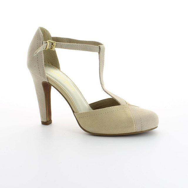 Marco Tozzi Empolit 24405-435 Beige multi high-heeled shoes