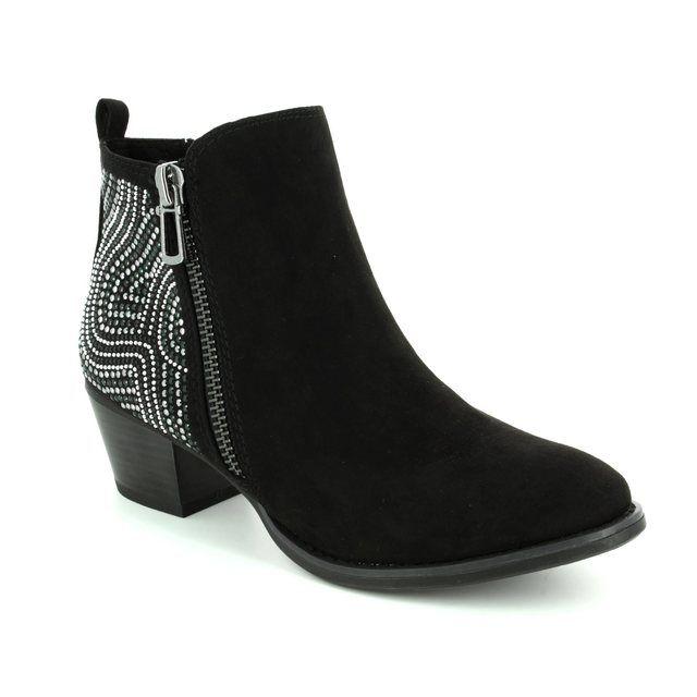 Marco Tozzi Faida 25303-098 Black ankle boots