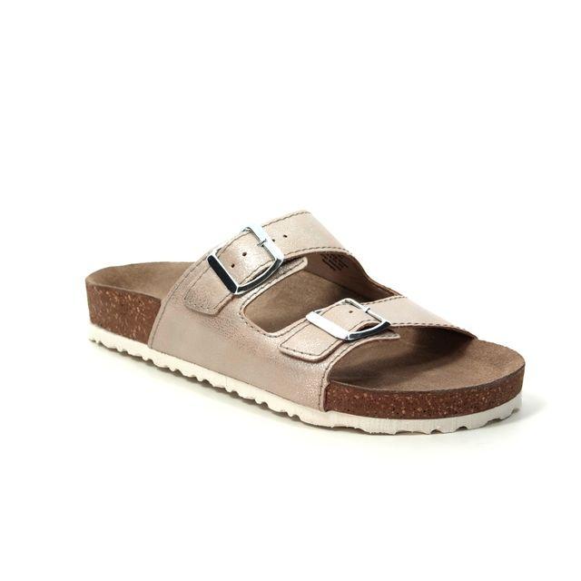 Marco Tozzi Franca Slide 27401-22-592 Rose Slide Sandals