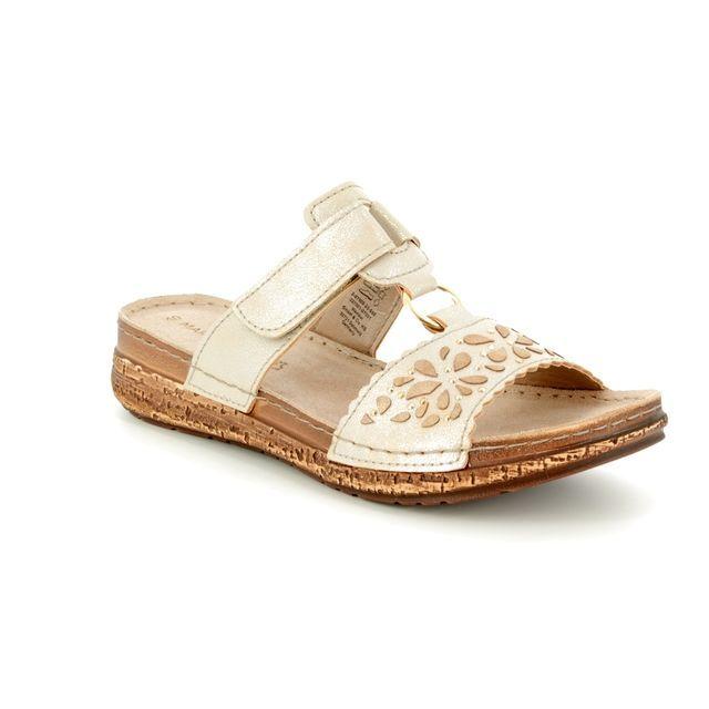 Marco Tozzi Sandals - Platinum - 27505/20/960 FRIDA