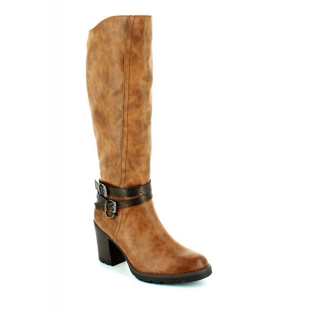 Marco Tozzi Goni 25609-372 Tan knee-high boots