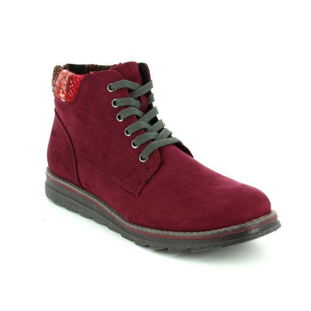 Marco Tozzi Ankle Boots - Wine multi - 25208/522 GRANA 72